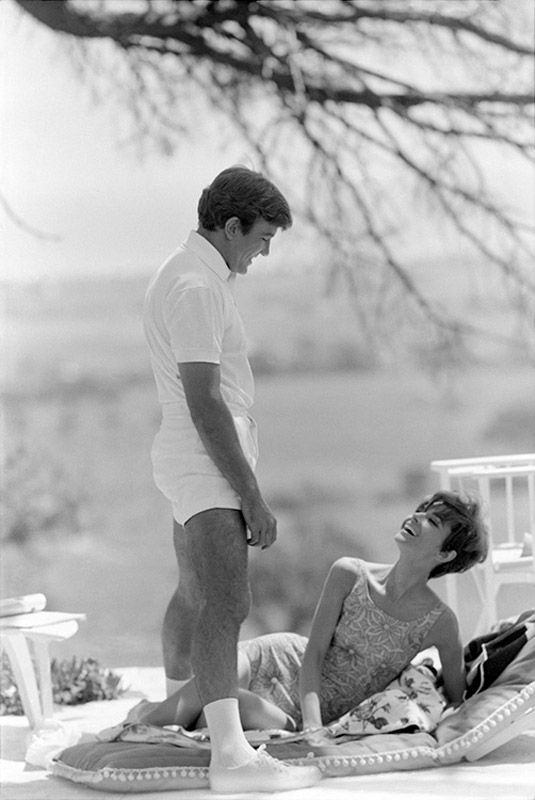 Audrey Hepburn and Albert Finney