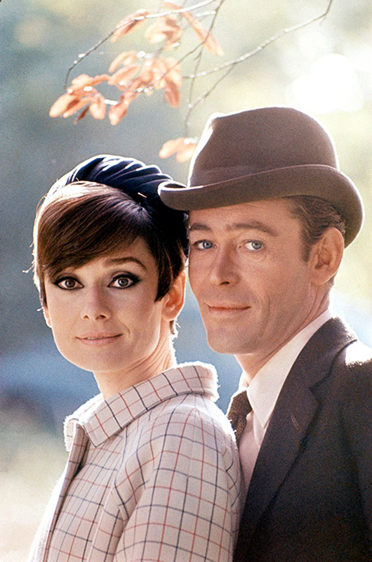 Audrey Hepburn and Peter O'Toole