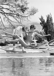 Albert Finney and Audrey Hepburn