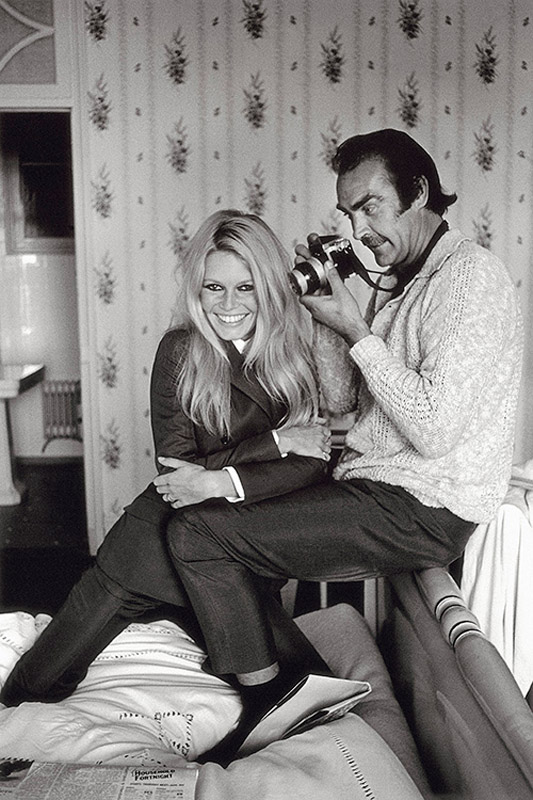 Bardot And Connery