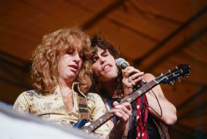 Brad Whitford and Steven Tyler