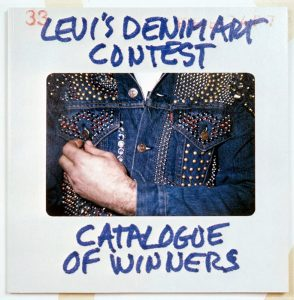 Levi's Denim Art Contest.