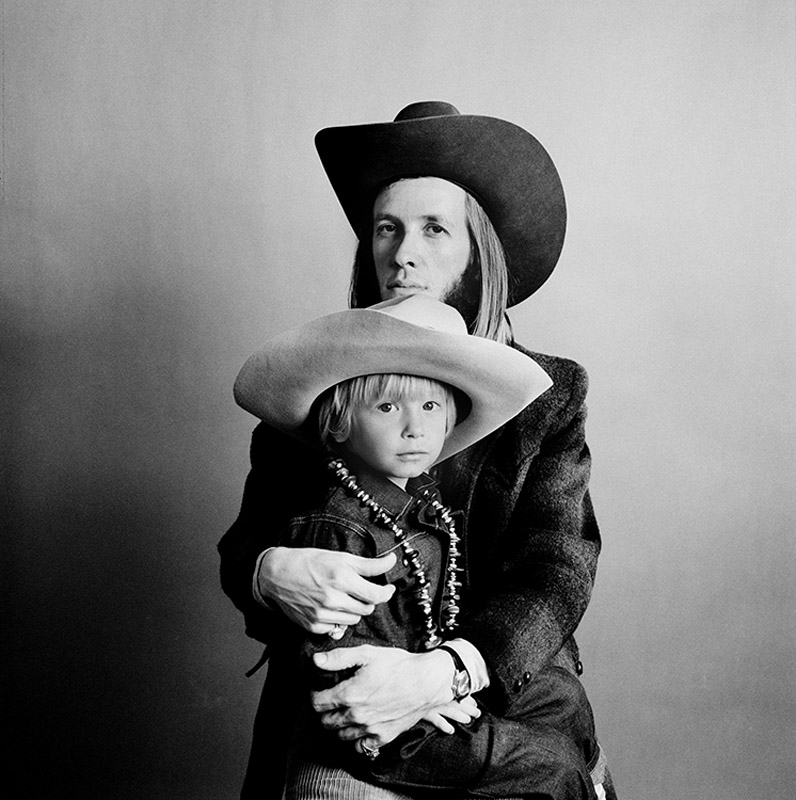 Doug Sahm and his son Shawn