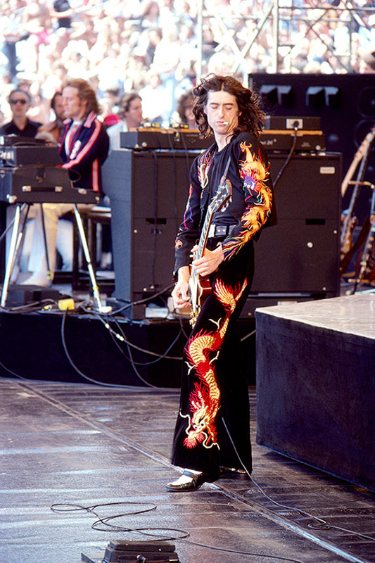 Bw Lz017 Jimmy Page Iconic Images