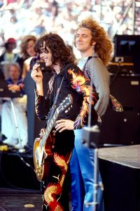 Jimmy Page and Robert Plant