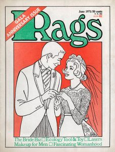 Rags Magazine Cover