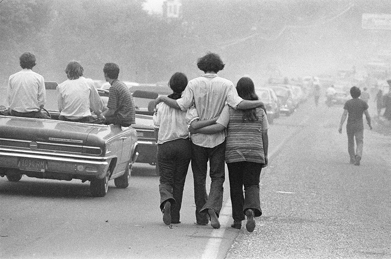 Walking to Woodstock