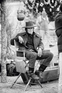 Eastwood On Set