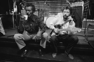 Chuck Berry and Eric Clapton