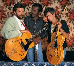 Guitar Legends Clapton, Berry and Richards