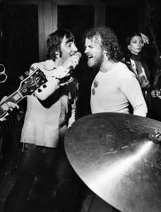 Joe Cocker and Keith Moon