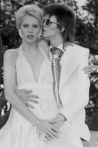 David and Angie Bowie