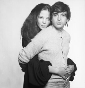 David Bailey and Penelope Tree