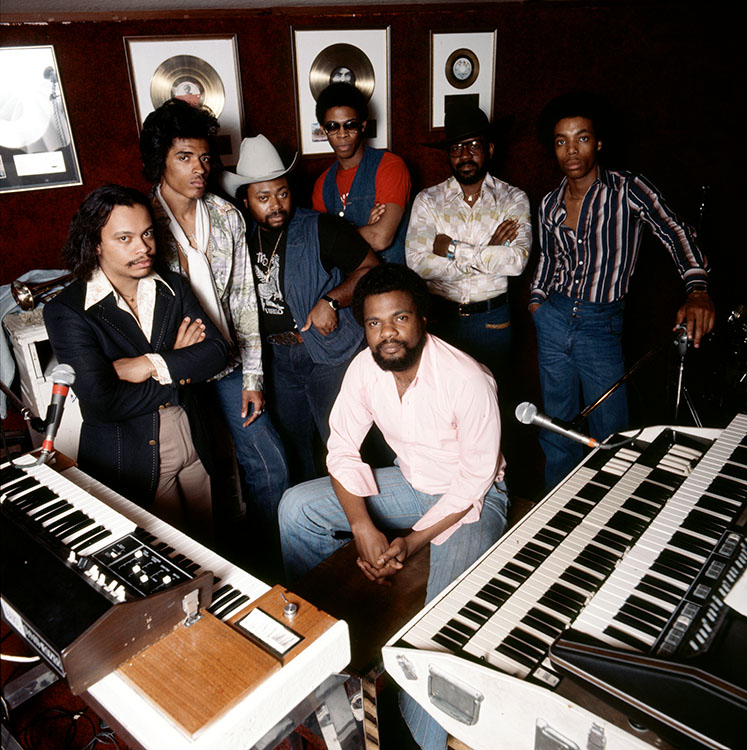 Billy Preston and band