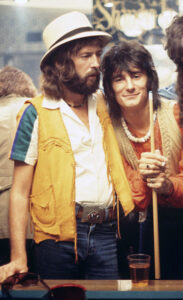 Eric Clapton and Ron Wood