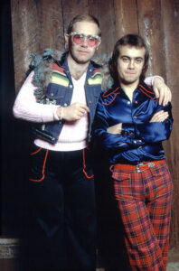Elton John and Bernie Taupin