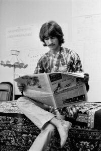 George Harrison at Sat Purush