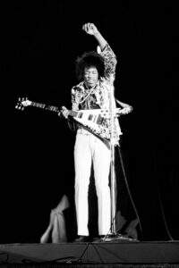 Hendrix at Hollywood Bowl1967