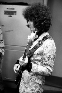 Noel Redding Backstage