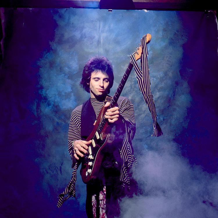 Jimi Hendrix Burning Guitar