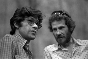 Robbie Robertson and Levon Helm