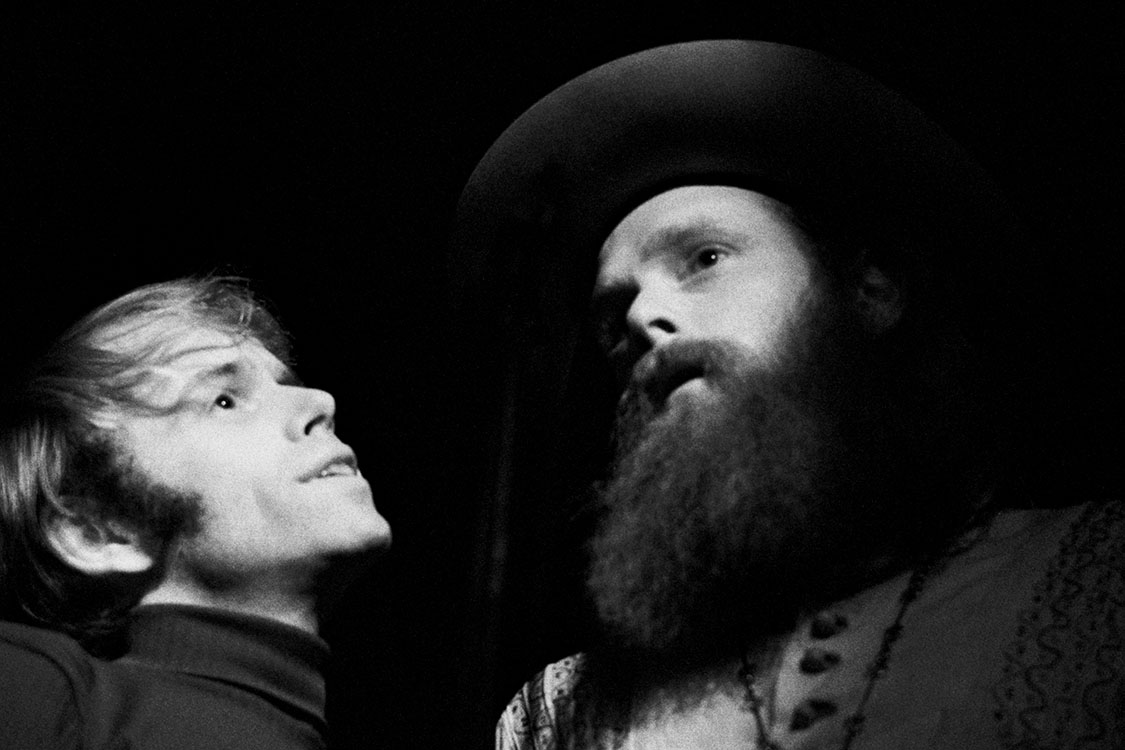 Al Jardine and Mike Love