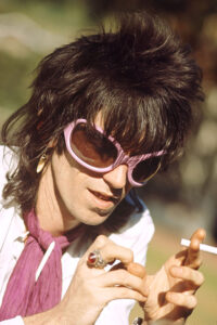Keith Richards at Home