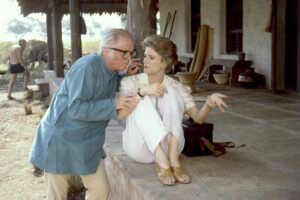 Richard Attenborough and Candice Bergen