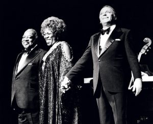 Frank Sinatra, Sarah Vaughan and Count Basie
