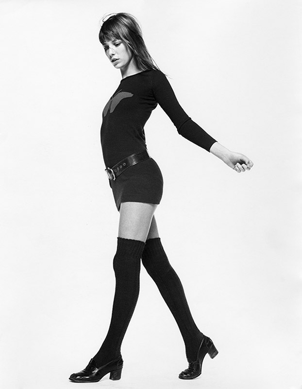 Gb001 Jane Birkin Iconic Images