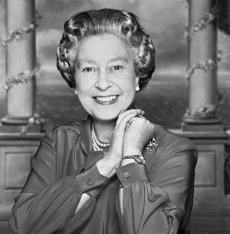 Vintage Travel Postcards: Her Majesty Queen Elizabeth II