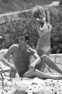 George Lasenby and Jill St John