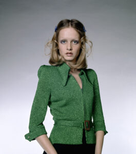 Twiggy In Green