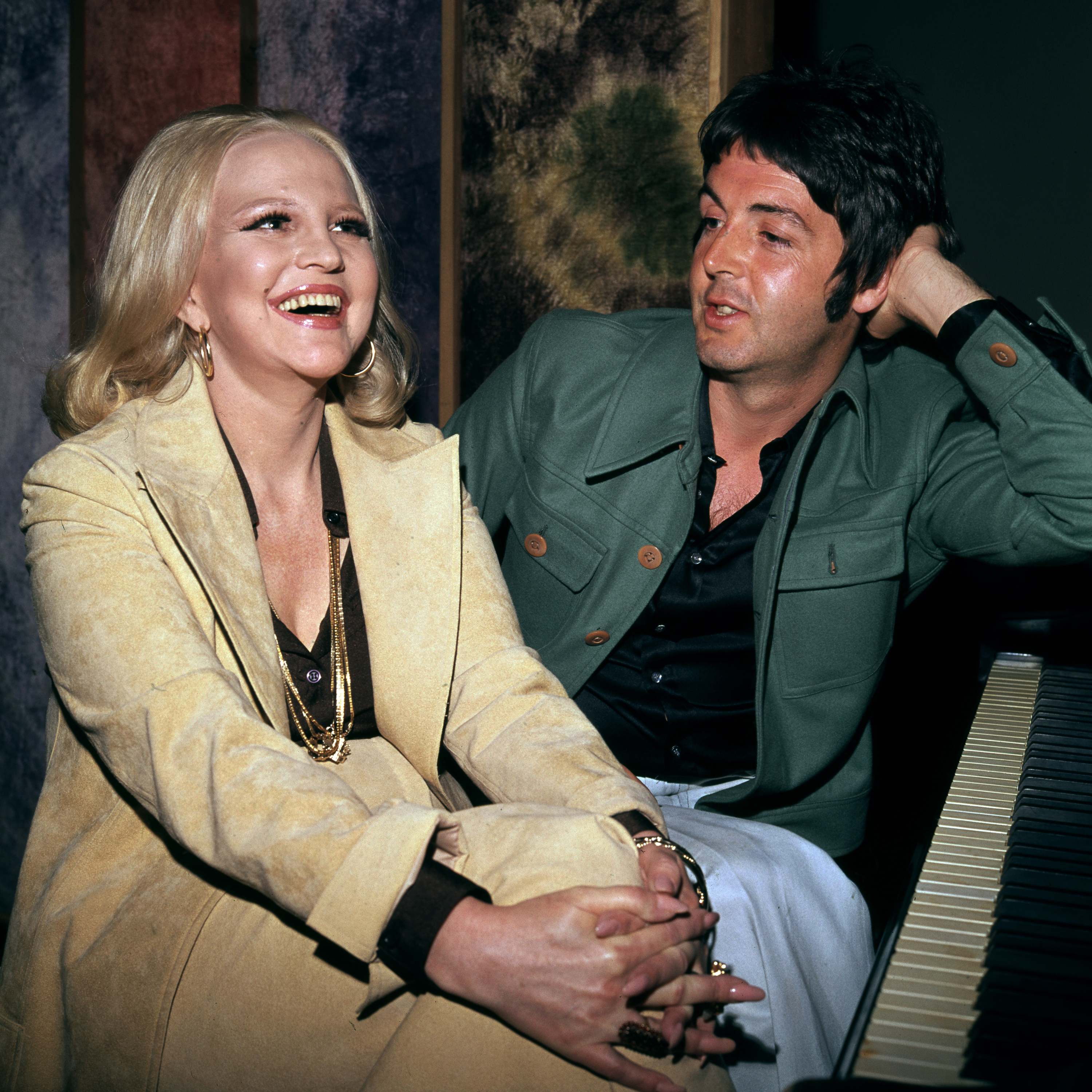 Paul McCartney and Peggy Lee