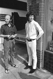 Jim Morrison and Paul Rothchild