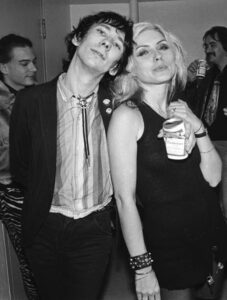 Stiv Bators & Debbie Harry