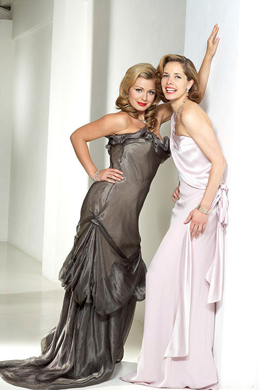 Darcey Bussell and Katherine Jenkins
