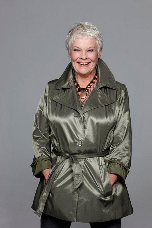 JS_PE219 : Dame Judi Dench - Iconic Images