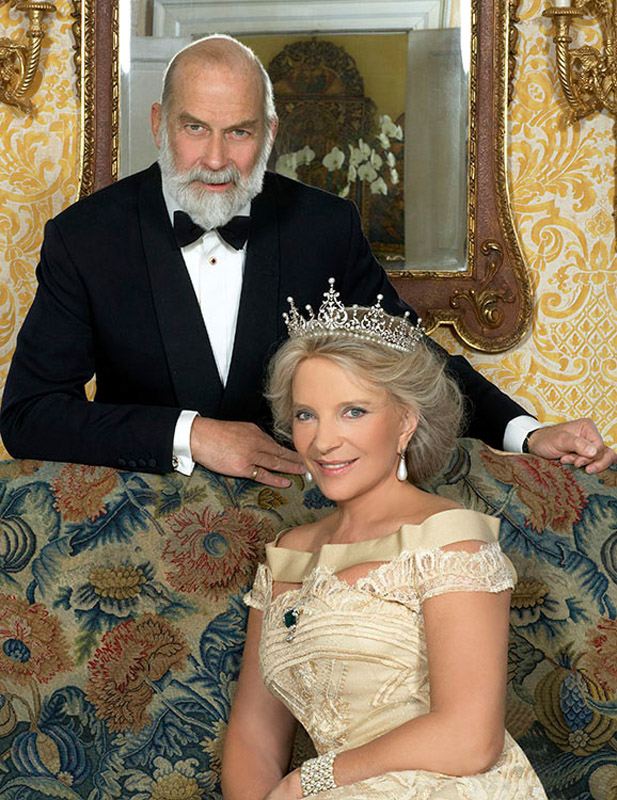 HRH Prince & Princess Michael of Kent