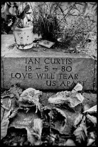 Ian Curtis's memorial