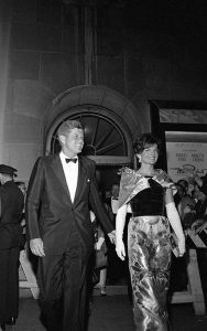 John F. Kennedy and First Lady Jackie Kennedy