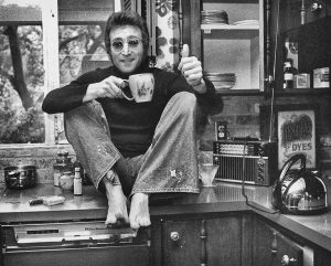 John Lennon in Beverly Hills