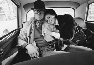 Michael Caine and Anjanette Comer