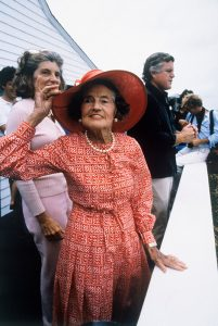 Ted & Rose Kennedy