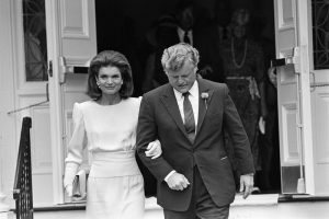 Jacqueline Kennedy And Ted Kennedy