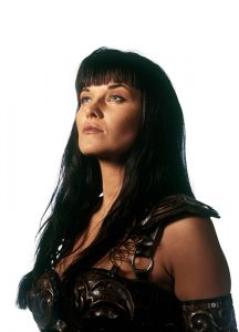 Actress Lucy Lawless of Xena