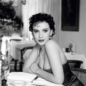 French actress Mathilda May, circa 1995.