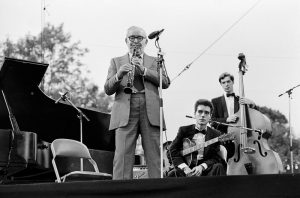 Benny Goodman at Knebworth Jazz Festival