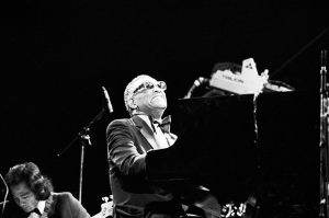 Ray Charles at Knebworth Jazz Festival