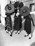 A trio of dresses by Victor Stiebel